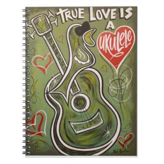 Amor del Ukulele Libreta