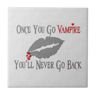 Amor del vampiro tejas  cerámicas