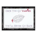 Amor del vampiro comunicado personal