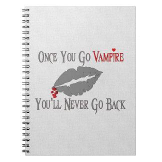 Amor del vampiro cuadernos