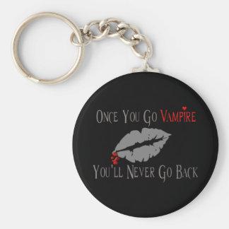 Amor del vampiro llaveros personalizados
