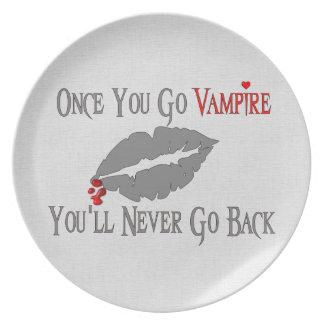 Amor del vampiro plato