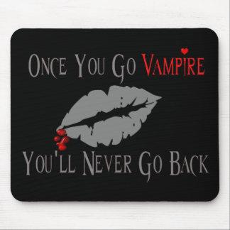 Amor del vampiro tapete de ratones