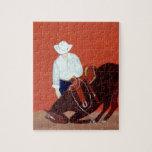 Amor del vaquero puzzles