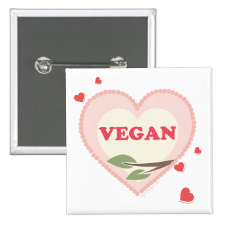 Amor del vegano pins