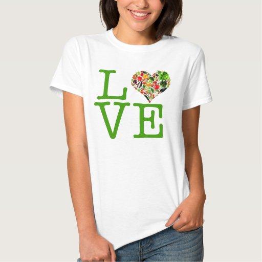 Amor del vegano playeras