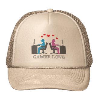 Amor del videojugador gorras