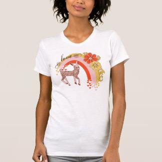 Amor del vintage camisetas