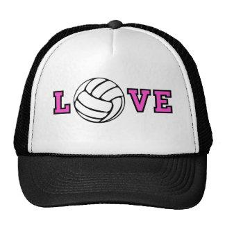Amor del voleibol gorras