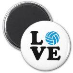 Amor del voleibol imán