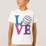 AMOR del voleibol, multi Playeras