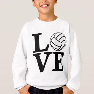 AMOR del voleibol, negro Sudadera