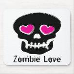 Amor del zombi alfombrillas de ratones