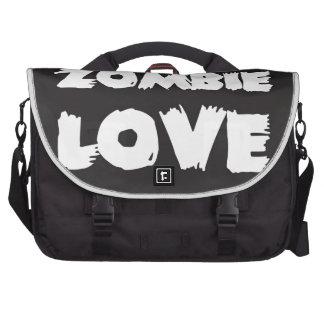 Amor del zombi bolsa para ordenador