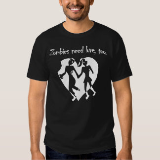 Amor del zombi camisas