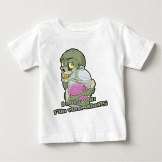 Amor del zombi - con las letras camisas