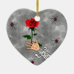 Amor del zombi ornamentos de reyes magos