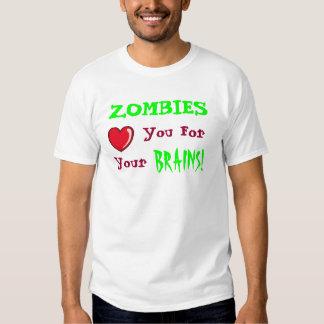 Amor del zombi playeras