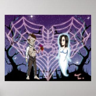 Amor del zombi póster