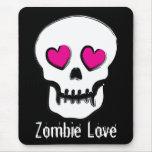 Amor del zombi tapetes de ratón