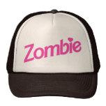 amor del zombi - zombis del amor de i gorros bordados