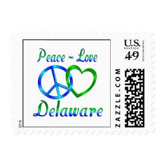 Amor Delaware de la paz Sellos