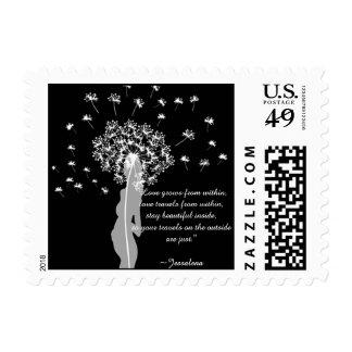 Amor dentro (blanco) sellos