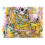Amor después de la muerte tarjeta postal