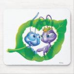 Amor Disney de Flik y de Atta Alfombrillas De Ratones
