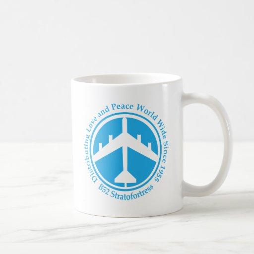 Amor distribiting .png azul claro de A098 B52 Taza De Café