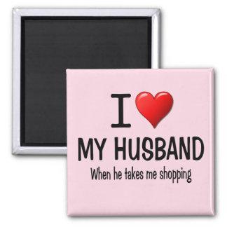 Amor divertido de I mi marido Imán Cuadrado