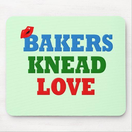 Amor divertido de la necesidad de los panaderos (a alfombrillas de ratones