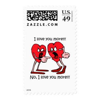 Amor divertido sello