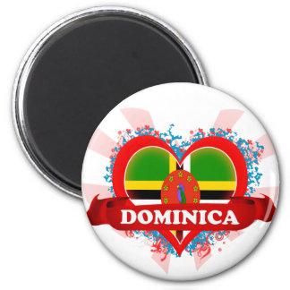 Amor Dominica del vintage I Imán De Frigorífico