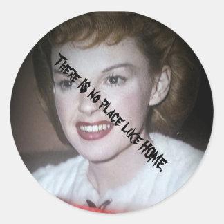 Amor Dorothy de Eclaire Pegatina Redonda
