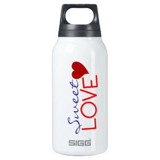 Amor dulce botella isotérmica de agua