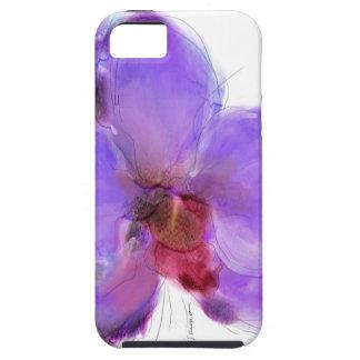 Amor duro de la orquídea de Afteroon del caso de I iPhone 5 Case-Mate Protector