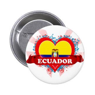 Amor Ecuador del vintage I Pin