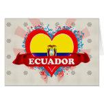 Amor Ecuador del vintage I Tarjetas