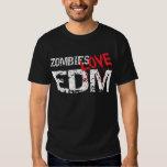 Amor EDM de los zombis Polera