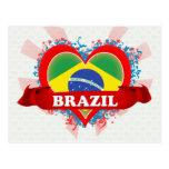 Amor el Brasil del vintage I Tarjeta Postal