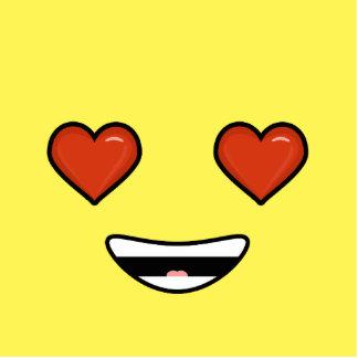 Amor Emoji Adorno Fotoescultura