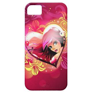 Amor en caso del iPhone 5 del amor Funda Para iPhone SE/5/5s