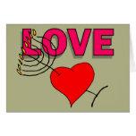 Amor en Chanukah 101 Tarjetón