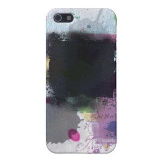 Amor en el caso de la mota del rebobinado para el iPhone 5 carcasas