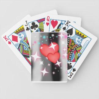 Amor en el cielo barajas de cartas