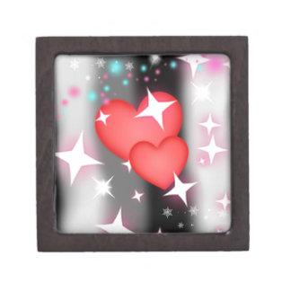 Amor en el cielo caja de recuerdo de calidad