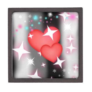 Amor en el cielo cajas de recuerdo de calidad