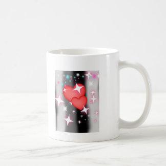 Amor en el cielo taza de café