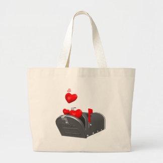 Amor en el correo bolsa